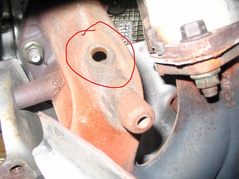 Right Side Exhaust Manifold Leak? - Subaru WRX Forum
