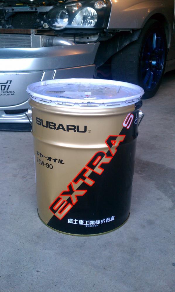 transmission fluid - Subaru WRX Forum