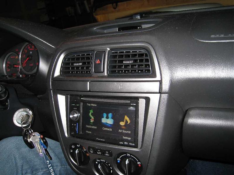 installed a new cd/dvd head unit! - Subaru WRX Forum