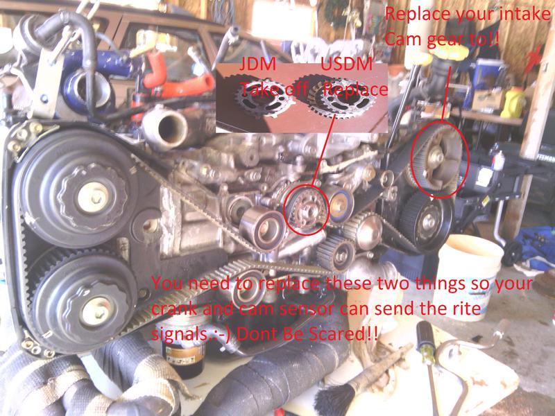 JDM EJ205 Engine swap 02 WRX - Subaru WRX Forum
