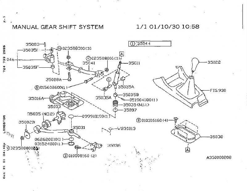 stuck in first gear stick is stuffed Subaru WRX Forum – Diagram Of An Engine Ej205