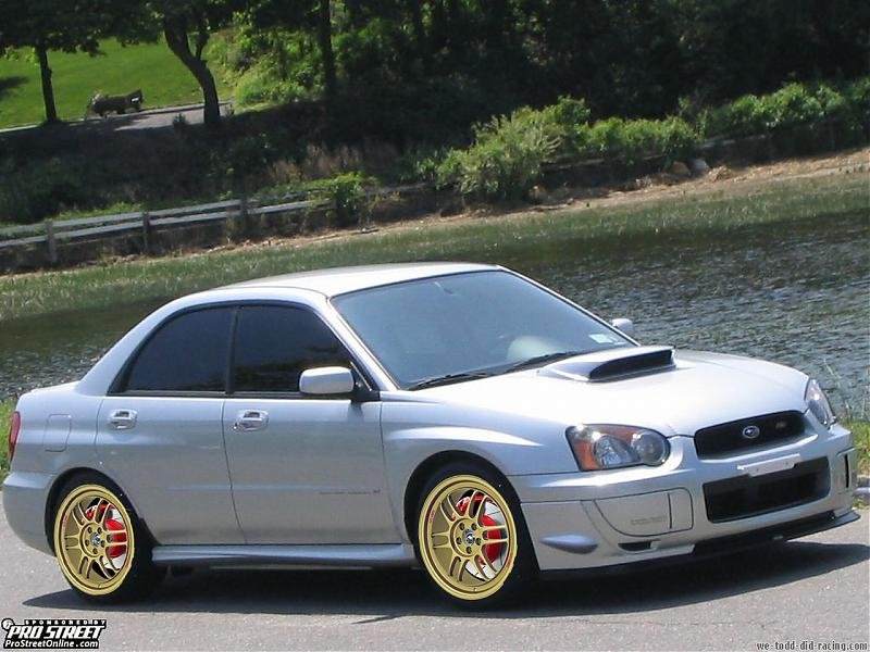 What Color Wheels With Silver Subaru Wrx Forum