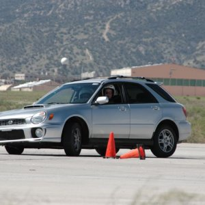WRX in action