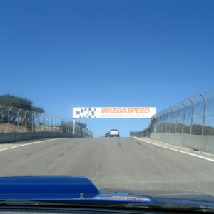 Parade Lap at Laguna Seca