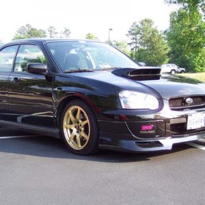 wrx side view