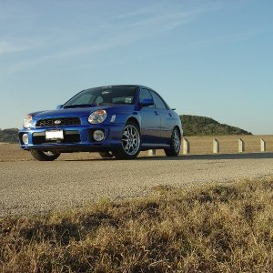 '02 WRX Texas Hill Country