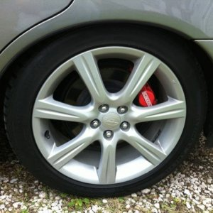 Stock Rims And Brakes